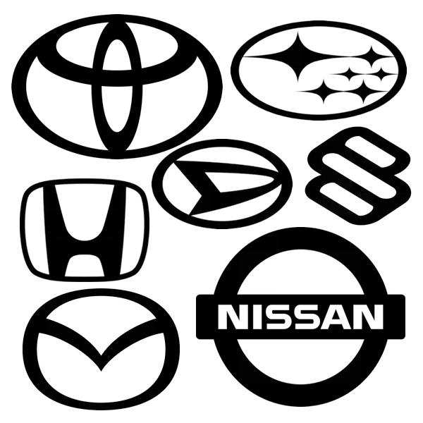 国産自動車メーカーエンブレム
