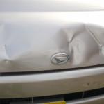 中古車の凹みや傷、修理は購入前、購入後?